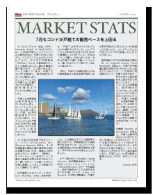 Honolulu Market Stats No.10 2021年8月号